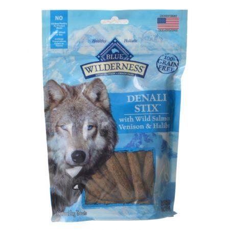Blue Buffalo Blue Buffalo Wilderness Denali Stix Dog Treats - Wild Salmon, Venison & Halibut