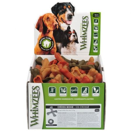 Whimzees Whimzees Natural Dental Care Alligator Dog Treats