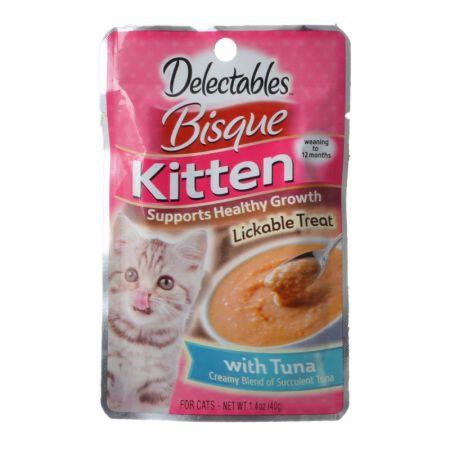 Hartz Hartz Delectables Bisque Kitten Treat - Tuna