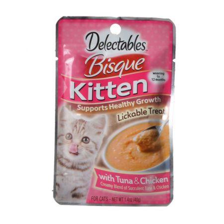 Hartz Hartz Delectables Bisque Kitten Treat - Tuna & Chicken
