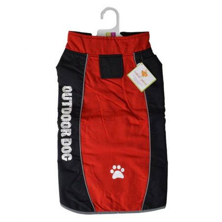 Fashion Pet Outdoor Dog All Weather Jacket - Red