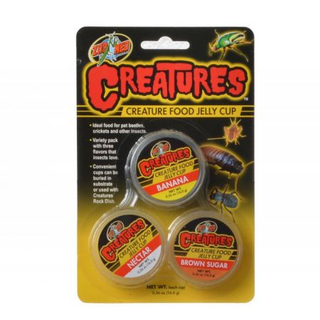 Zoo Med Zoo Med Creatures Creature Food Jelly Cup