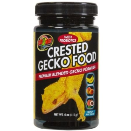 Zoo Med Crested Gecko Food - Tropical Fruit Flavor