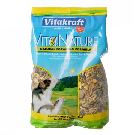 Vitakraft VitaNature Natural Foraging Formula Rat & Mouse Food alternate view 1