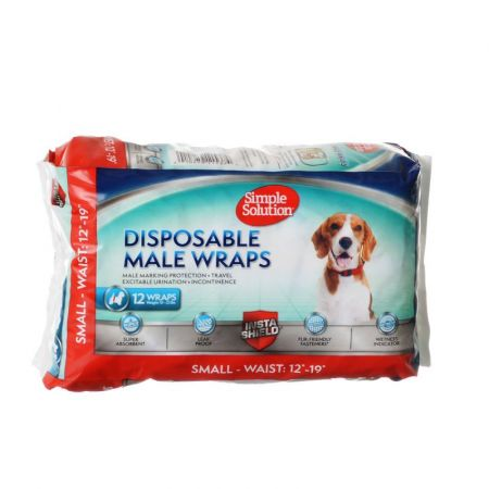 Simple Solution Simple Solution Disposable Male Wraps - Small