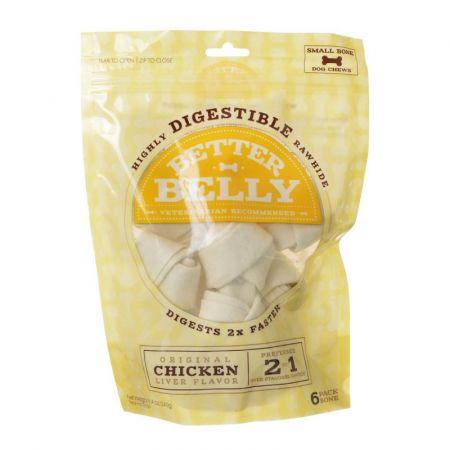 Better Belly Rawhide Chicken Liver Bones - Small