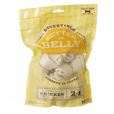 Better Belly Rawhide Chicken Liver Bones - Small alternate view 2