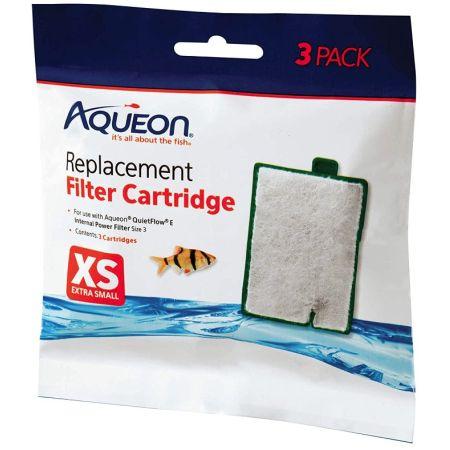 Aqueon Replacement Filter Cartridges for E Internal Power Filter - X-Small
