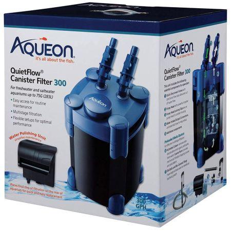Aqueon QuietFlow Canister Filter 300