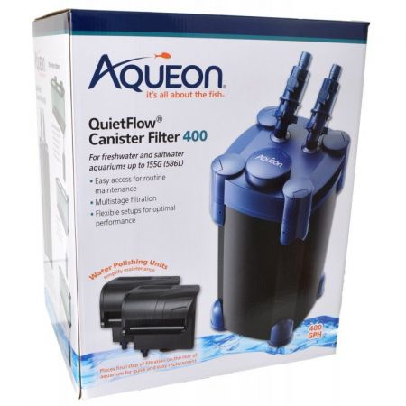 Aqueon QuietFlow Canister Filter 400