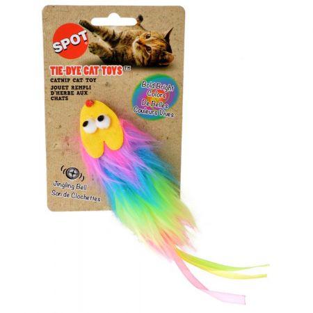 Spot Spot Tie Dye Plush Cat Toy - Assorted Colors