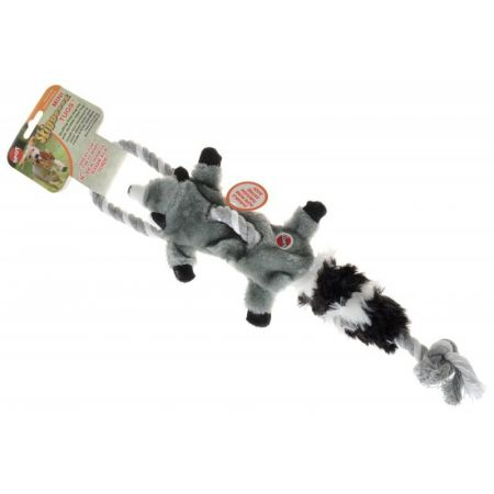 Spot Skinneeez Raccoon Tug Toy - Mini