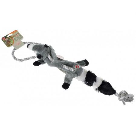 Spot Spot Skinneeez Raccoon Tug Toy - Regular