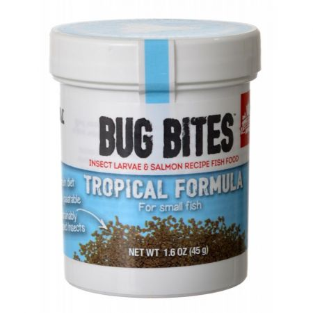 Fluval Fluval Bug Bites Tropical Formula Granules for Small Fish