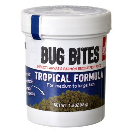Fluval Fluval Bug Bites Tropical Formula Granules for Medium-Large Fish