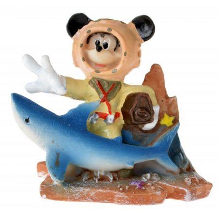 Penn Plax Penn Plax Mickey with Treasure Chest Resin Ornament