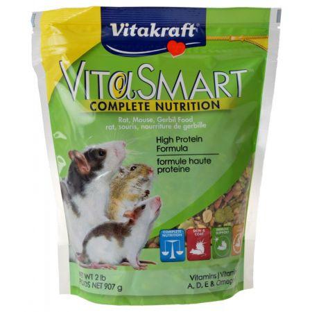 Vitakraft Vitakraft VitaSmart Complete Nutrition Rat, Mouse & Gerbil Food