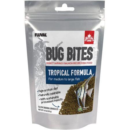 Fluval Bug Bites Tropical Formula Granules for Medium-Large Fish alternate view 2