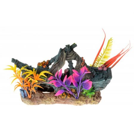 Exotic Environments Sunken Ship Floral Ornament alternate view 1