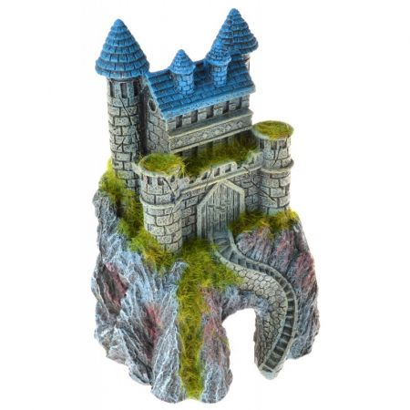 Blue Ribbon Pet Products Exotic Environments Mountain Top Castle with Moss