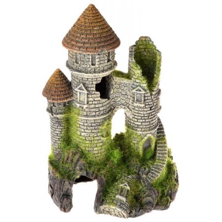 Blue Ribbon Pet Products Exotic Environments Mountain Top Citadel with Moss