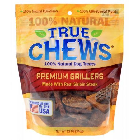 True Chews True Chews Premium Grillers with Real Steak
