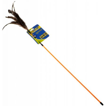 Petsport USA Petsport Kitty Feather Wand - Assorted Colors