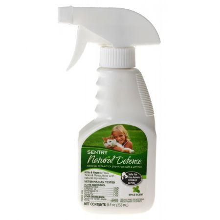 Sentry Sentry Natural Defense Flea & Tick Spray for Cats & Kittens