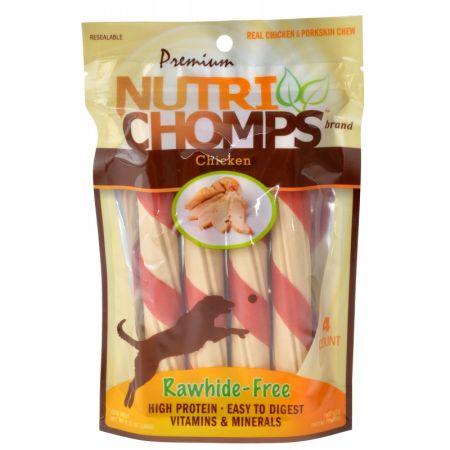 Scott Pet Premium Nutri Chomps Chicken Wrapped Twists