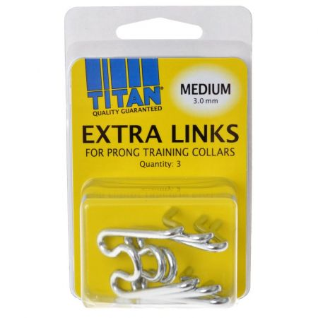 Titan Extra Links for Prong Training Collars alternate view 2