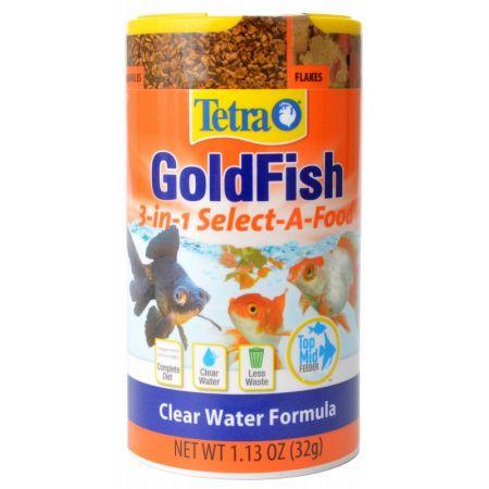 Tetra Tetra Goldfish 3-in-1 Select-A-Food