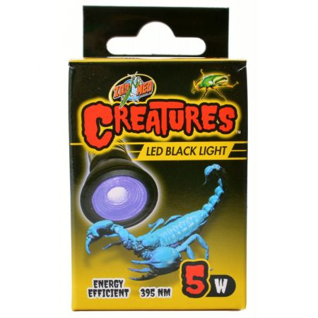 Zoo Med Creatures LED Black Light Lamp alternate view 1