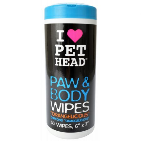 Pet Head Pet Head Paw & Body Wipes - Orangelicious