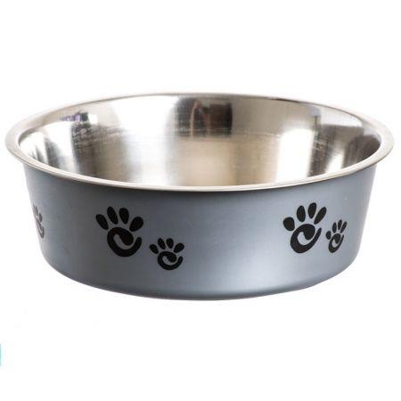 Spot Spot Barcelona Stainless Steel Feeding Bowl for Dogs - Silver
