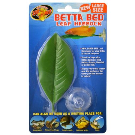 Zoo Med Aquatic Betta Bed Leaf Hammock alternate view 2