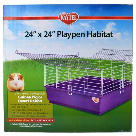 """Kaytee Kaytee 24"""" x 24"""" Playpen Habitat"""