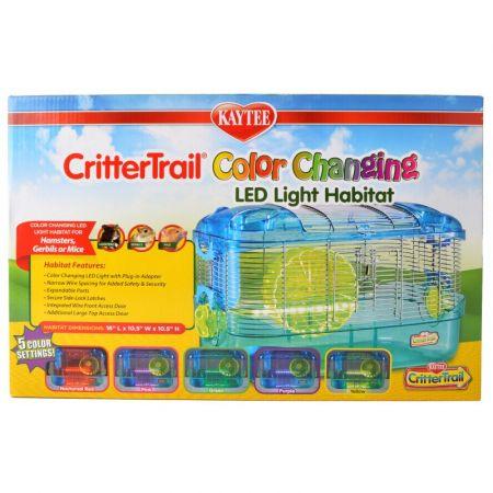 Kaytee Crittertrail Color Changing LED Light Habitat