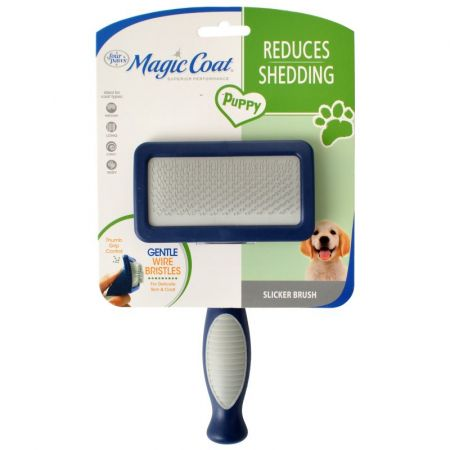 Four Paws Magic Coat Puppy Gentle Slicker Brush