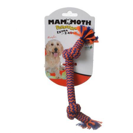 Mammoth Mammoth Flossy Chews 2 Knot Bone with Z-Core