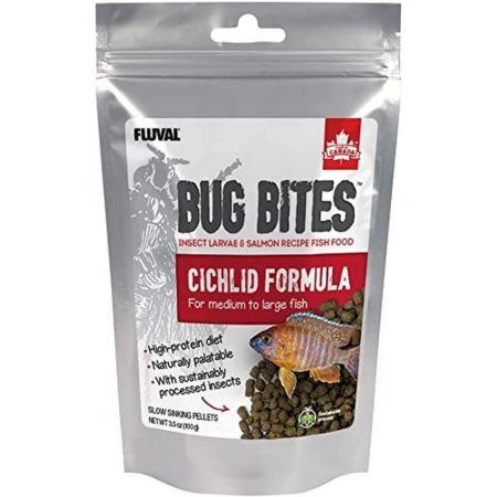 Fluval Fluval Bug Bites Cichlid Formula for Medium-Large Fish