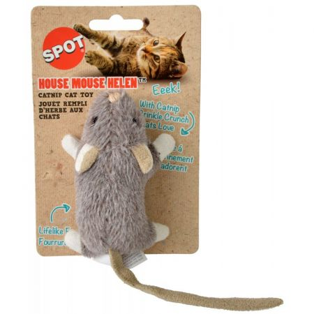 Spot House Mouse Helen Catnip Toy - Assorted Colors