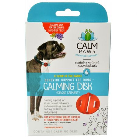 Calm Paws Calming Disk for Dog Collars alternate view 1