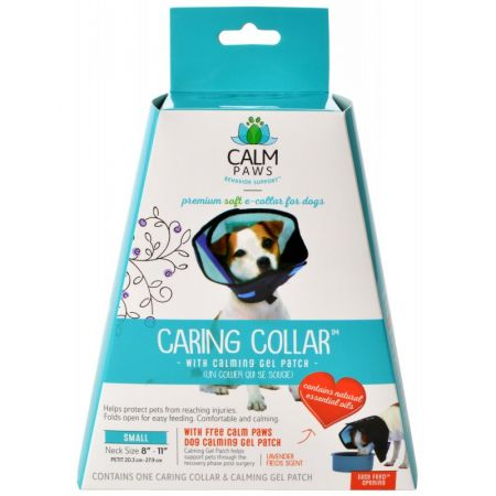 Calm Paws Calm Paws Caring Collar with Calming Gel Patch for Dogs