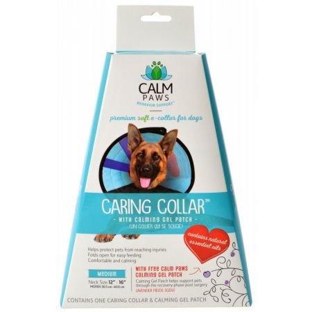 Calm Paws Caring Collar with Calming Gel Patch for Dogs alternate view 3