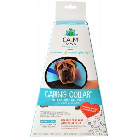 Calm Paws Caring Collar with Calming Gel Patch for Dogs alternate view 4