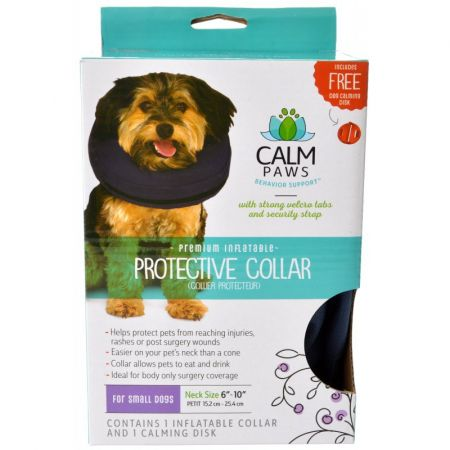 Calm Paws Premium Inflatable Protective Collar alternate view 1