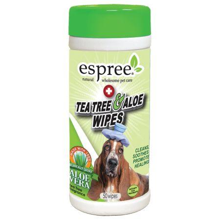 Espree Espree Tea Tree & Aloe Wipes