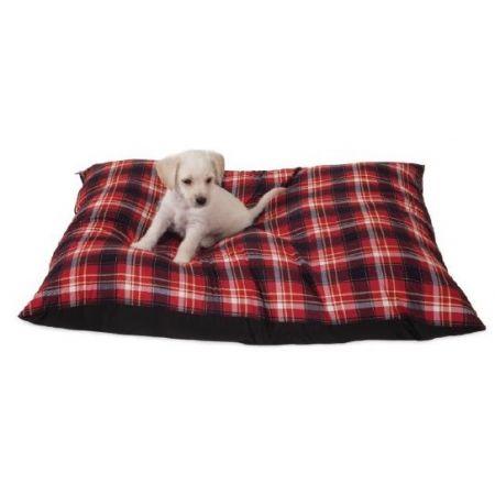 Aspen Pet Hamilton Plaid Pet Pillow Bed alternate view 1