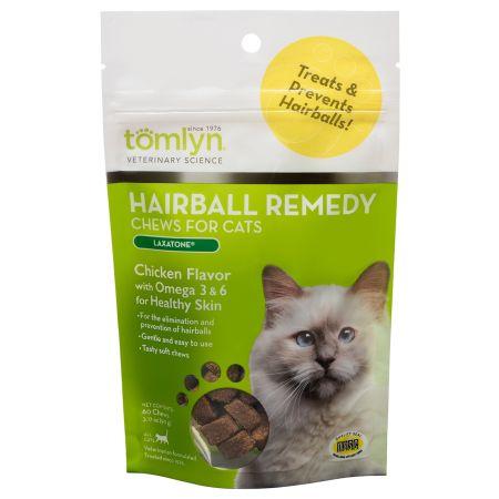 Tomlyn Tomlyn Hairball Remedy Chews for Cats