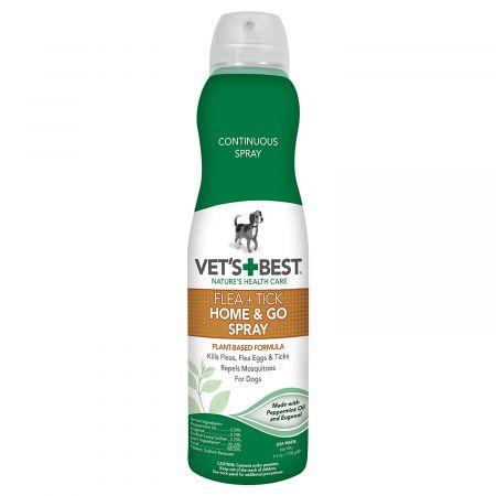 Vet's Best Vet's Best Flea & Tick Home & Go Spray for Dogs